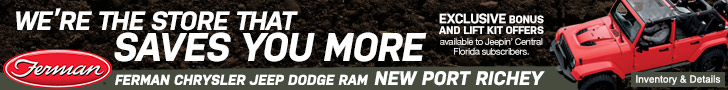 Ferman Chrysler Jeep Dodge Ram | New Port Richey | We're the store that saves you more!
